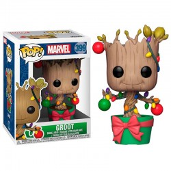 POP Marvel Holiday Groot with Lights & Ornaments