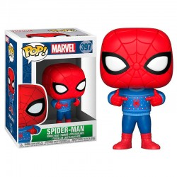 POP Marvel Holiday Spider-Man with Ugly Sweater
