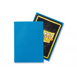 Matte Sapphire (100 Sleeves) - Dragon Shield Standard Sleeves