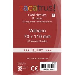 Fundas Zacatrus Volcano Premium (70 mm x 110 mm) (50 uds)