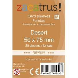 Fundas Zacatrus Desert Premium (50 mm x 75 mm) (50 uds)