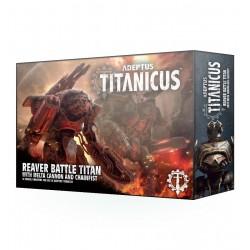 Reaver Battle Titan con Cañón de fusión y Puño sierra