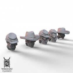 Warcradle Classics - Union Iron Horse Alternate Head Pack
