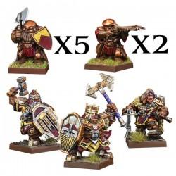 Dwarf Warband Set  (Ingles)