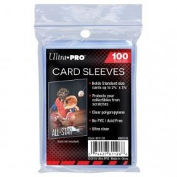 Standard Sleeves - Regular Soft Card (100 Sleeves)