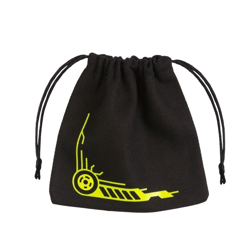 Galactic Black & yellow Dice Bag