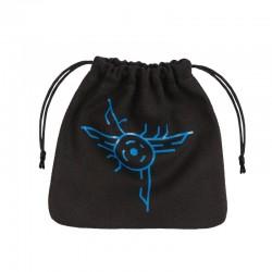 Galactic Black & blue Dice Bag