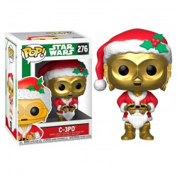POP Star Wars Holiday C-3PO as Santa