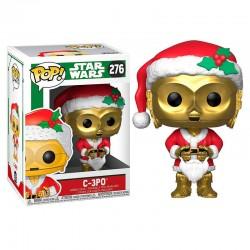 POP Star Wars Holiday C-3PO as Santa