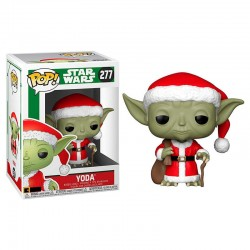 POP Star Wars Holiday Santa Yoda