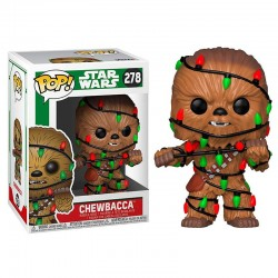 POP Star Wars Holiday Chewie with Lights