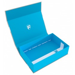 Magnetic Box blue Half-Size 75 mm empty