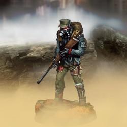 Soldat (rifle y protección contra la contaminación)