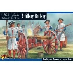 Marlborough's Wars Artillery battery